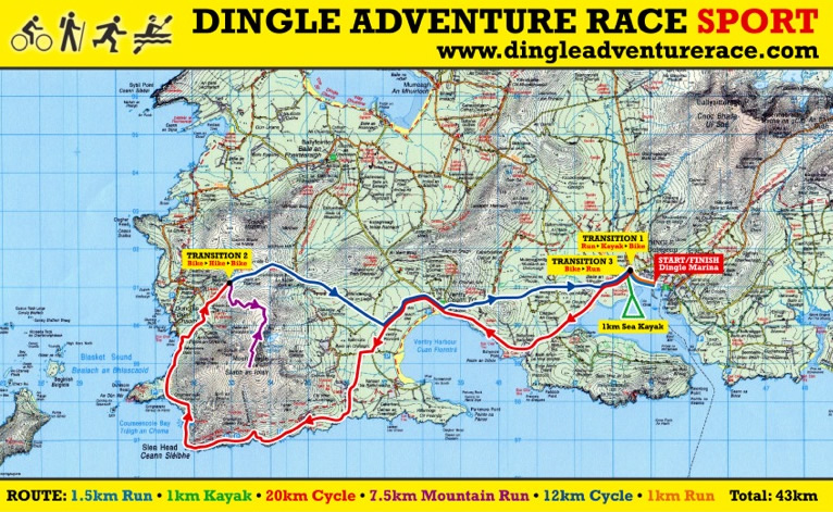 dingle adventure race kerry ireland irish adventure racing series